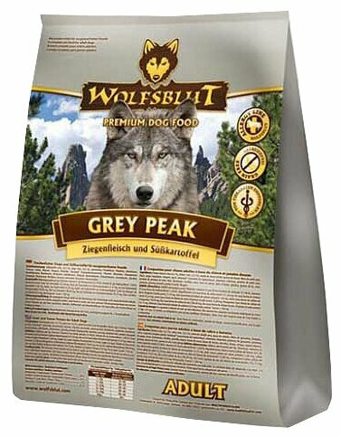 Корм для собак Wolfsblut Grey Peak Adult (2 кг)