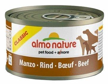 Корм для собак Almo Nature Classic говядина 12шт. х 95г