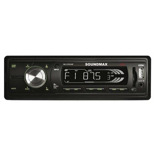 Купить Автомагнитола SoundMAX SM-CCR3048F, черная