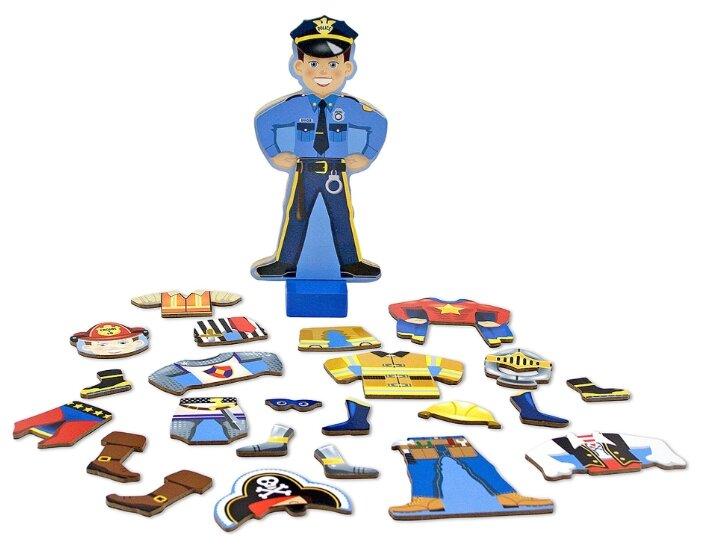 Игровой набор Melissa & Doug Joey Magnetic Dress-Up Set 3550