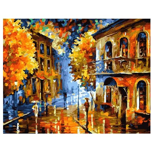 ВанГогВоМне Картина по номерам Осенняя пора, 40х50 см (ZX 10121) вангогвомне картина по номерам осенний вальс 40х50 см zx 21314