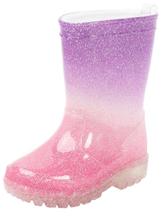 Сапоги playToday размер 21, фиолетовый/ розовый
