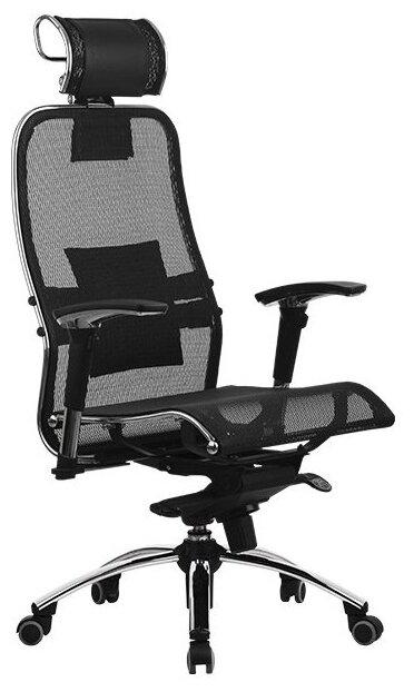 Компьютерное кресло Метта Samurai S-3 для руководителя — стоит ли покупать? Выбрать на Яндекс.Маркете