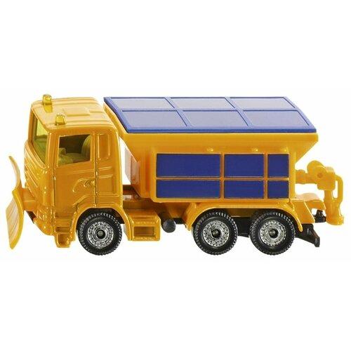Купить Снегоуборщик Siku 1309 1:55 8.7 см желтый/синий, Машинки и техника