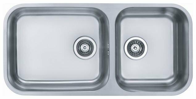 Врезная кухонная мойка ALVEUS Duo 60 89.2х44см нержавеющая сталь