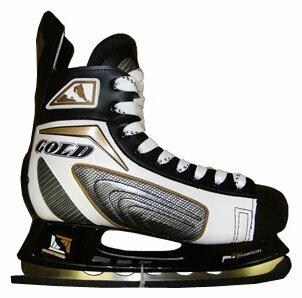 Хоккейные коньки Fora PW-208EH Gold