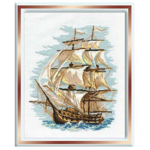 Купить Риолис Набор для вышивания крестом Корабль 30 х 40 (479), Наборы для вышивания