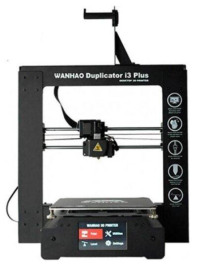 3D-принтер Wanhao Duplicator i3 Plus Mark II черный фото 1