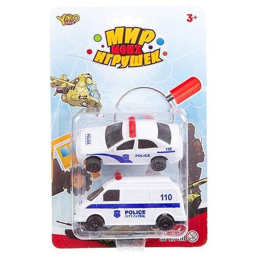 Фото - Набор машин Yako Мир моих игрушек (M7558-1) белый набор машин yako мир моих игрушек m7558 1 белый