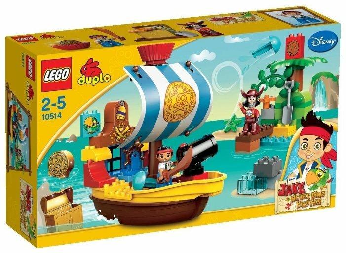 Конструктор LEGO Duplo 10514 Пиратский корабль Джейка