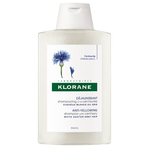 Klorane шампунь Anti-Yellowing with Centaury 200 млШампуни<br>