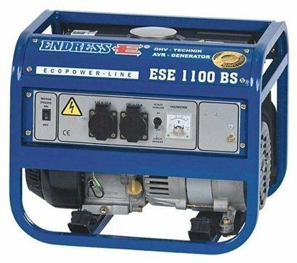 Бензиновый генератор ENDRESS ESE 1100 BS (900 Вт)