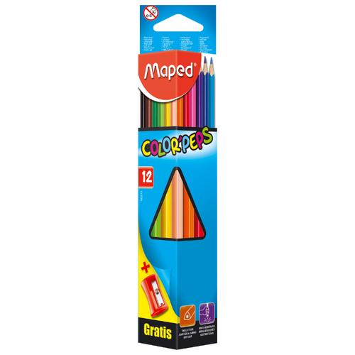 Купить Maped Цветные карандаши Color Peps 12 цветов (183213)
