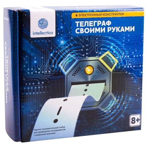 Купить Набор Intellectico Электронный конструктор. Телеграф своими руками (1101), Наборы для исследований