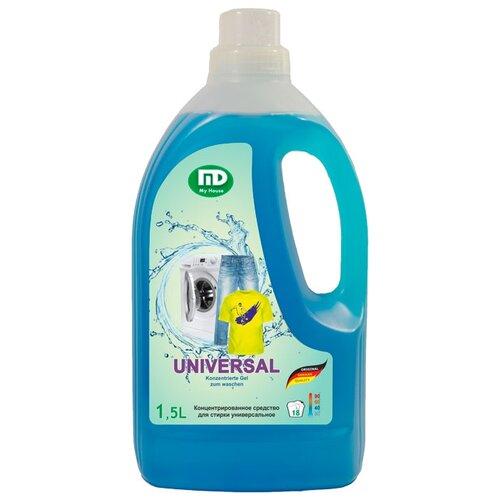 Гель для стирки Мой дом универсальный 1.5 л бутылкаГели и жидкости для стирки<br>