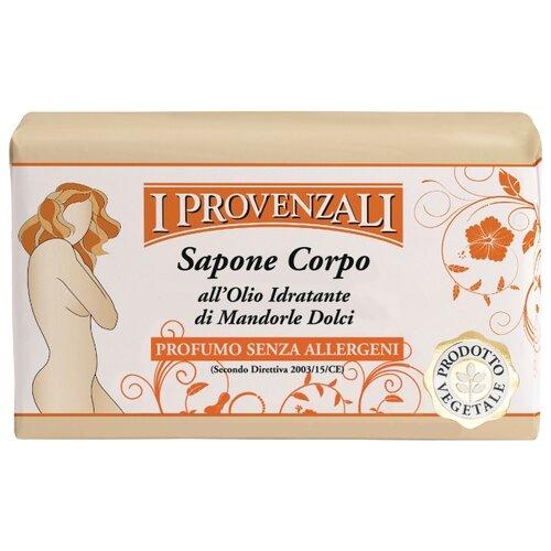 Мыло кусковое I Provenzali Sweet Almond Oil Body Soap Сладкий Миндаль, 250 гМыло<br>