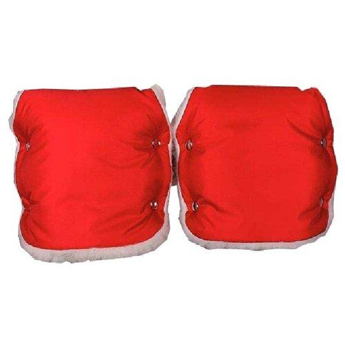 Еду-еду Муфта для рук раздельная красный, Аксессуары для колясок и автокресел  - купить со скидкой