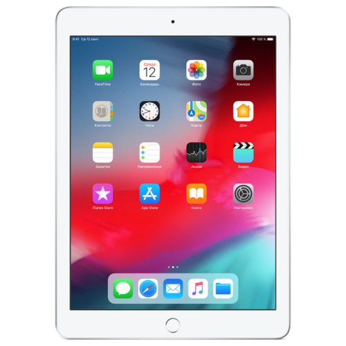 Планшет Apple iPad (2018) 32Gb Wi-Fi + Cellular silver