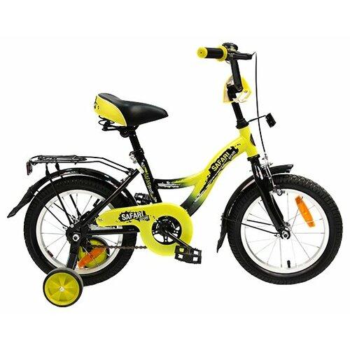 Детский велосипед Grand Toys GT7812 Safari Proff желтый (требует финальной сборки) цена 2017