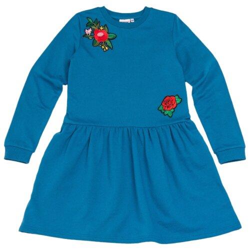 Платье Winkiki размер 134, бирюзовыйПлатья и сарафаны<br>