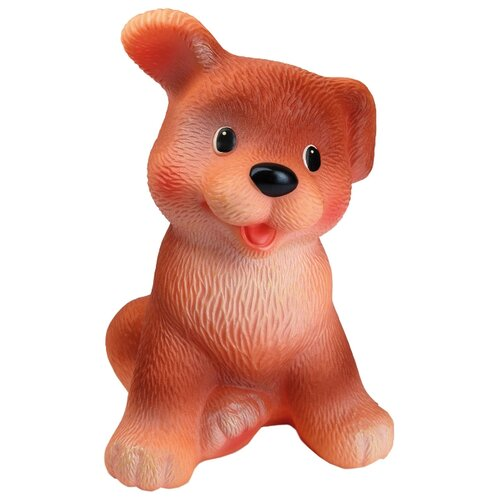 Купить Игрушка для ванной ОГОНЁК Щенок Гав (С-610) коричневый, Игрушки для ванной