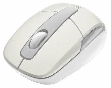 Мышь Trust Wireless Mini Travel Mouse White USB