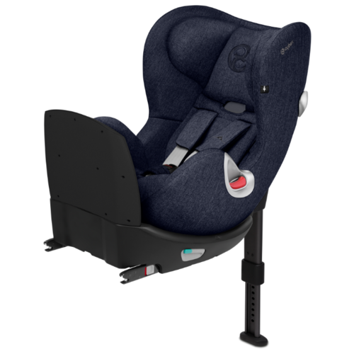 Автокресло группа 0/1 (до 18 кг) Cybex Sirona Q i-Size Plus, Midnight blue renolux автокресло serenity midnight