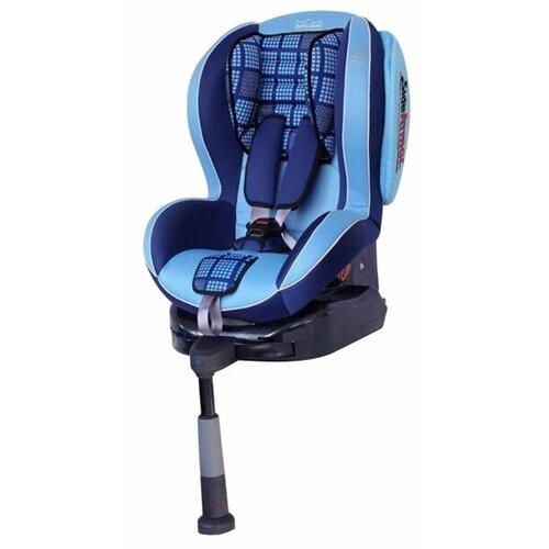 Автокресло группа 1/2 (9-25 кг) Welldon Royal Baby SideArmor & CuddleMe IsoFix, blue автокресло группа 1 2 3 9 36 кг little car ally с перфорацией черный