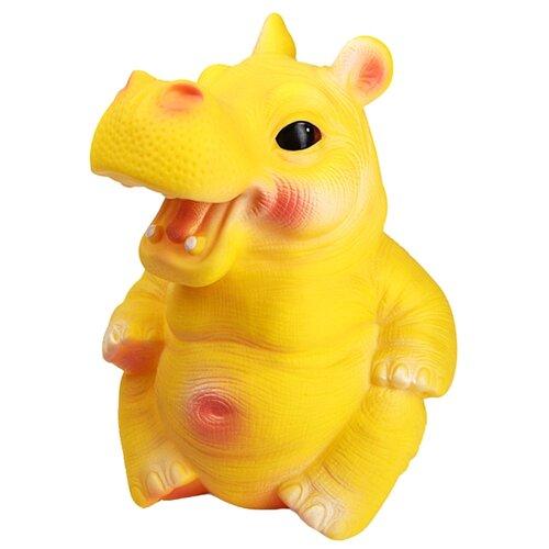 Фото - Игрушка для ванной ОГОНЁК Бегемот Боря (С-832) желтый огонёк кукла перчатка бегемот с 1156