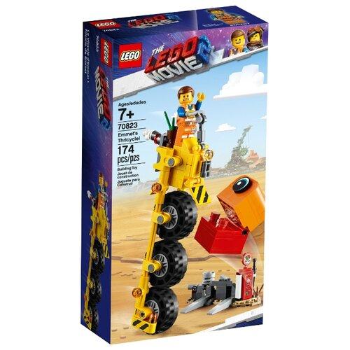 Купить Конструктор LEGO The LEGO Movie 70823 Трехколёсный велосипед Эммета, Конструкторы