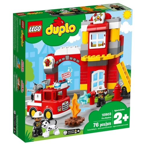 Конструктор LEGO DUPLO 10903 Пожарное депо конструктор lego city пожарное депо