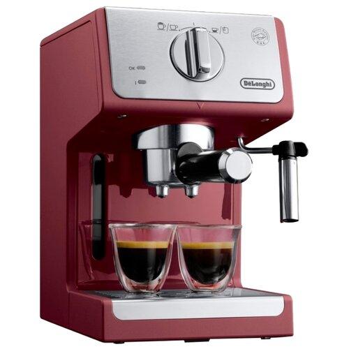Кофеварка рожковая De'Longhi ECP 33.21 красный кофеварка delonghi ecp 31 21