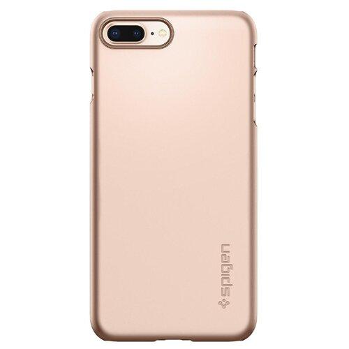 Фото - Чехол-накладка Spigen Thin Fit (055CS22) для Apple iPhone 8 Plus blush gold чехол spigen thin fit white apple watch 4 44mm