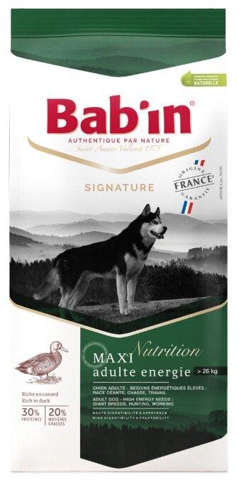 Корм для собак Bab'in Signature Maxi Adulte Energie