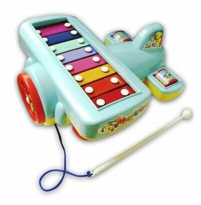 S+S Toys ксилофон Умные игрушки Самолет 00652527