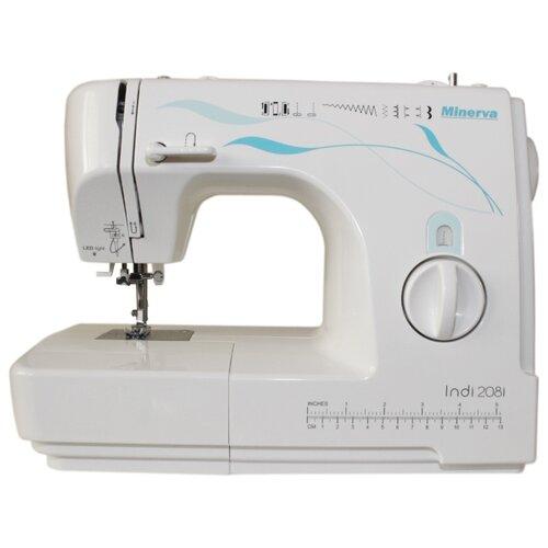 Швейная машина Minerva INDI 208I, белый