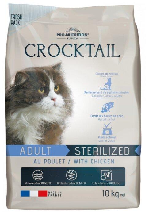 Корм для кошек Flatazor Crocktail Adult Sterilized