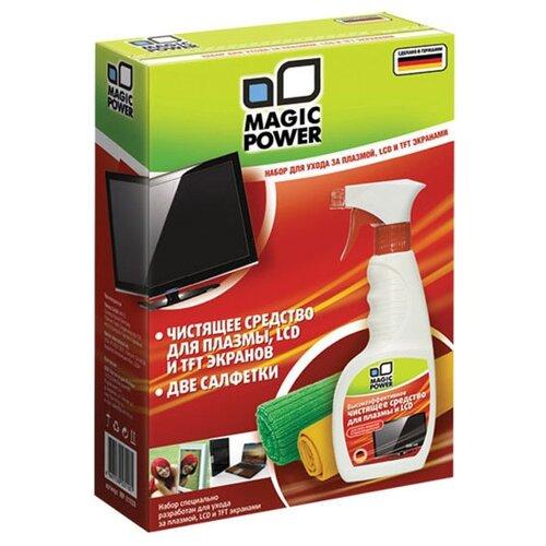 Фото - Набор MAGIC POWER MP-21030 чистящий спрей+сухие салфетки baile pretty love magic tongue фиолетовый вибромассажер с клиторальным стимулятором ротатором