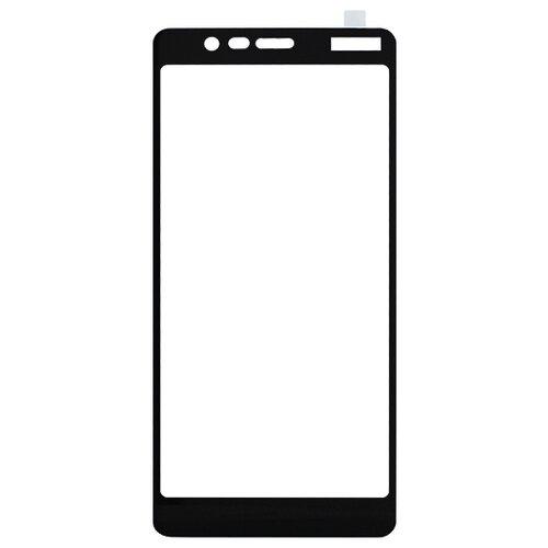 Защитное стекло Volare Rosso Fullscreen full glue для Nokia 5.1 Plus (X5) черныйЗащитные пленки и стекла<br>