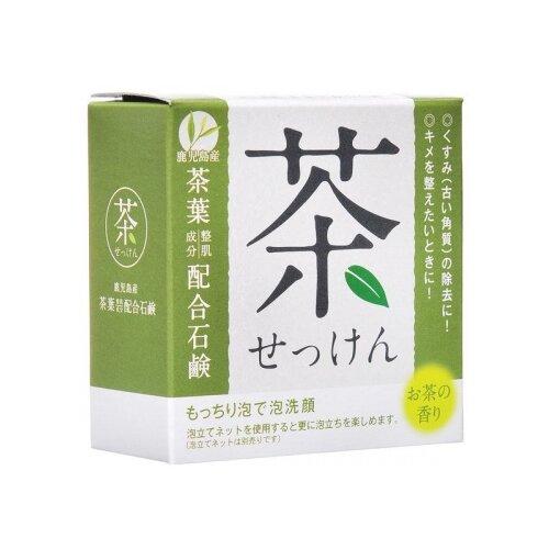 Clover мыло туалетное для лица с зеленым чаем, 80 г