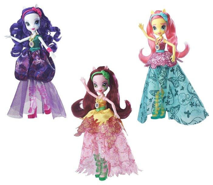 Кукла My Little Pony Equestria Girls Легенда Вечнозеленого леса Crystal Gala, 23 см, B6478