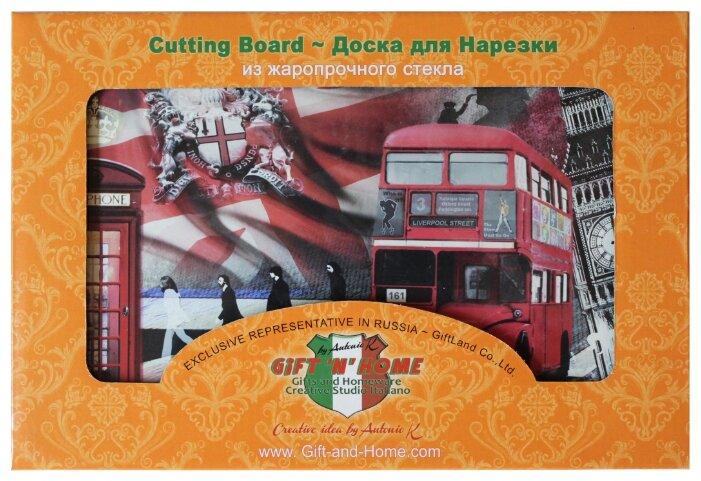 Разделочная доска Gift'n'Home Лондонские фантазии CB-01-Lon 20х30х0.4 см