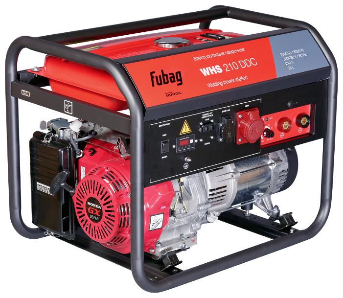 Бензиновый генератор Fubag WHS 210 DDC (5000