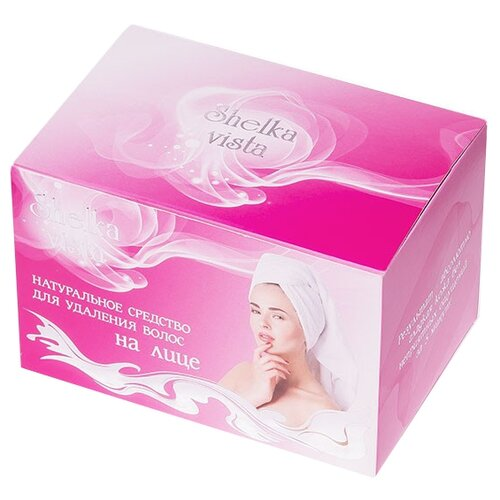 Shelka Vista Порошок для удаления волос на лице 150 г