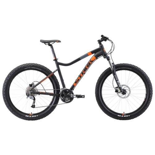 цена на Горный (MTB) велосипед STARK Tactic 27.5+ HD (2019) черный/оранжевый 19 (требует финальной сборки)