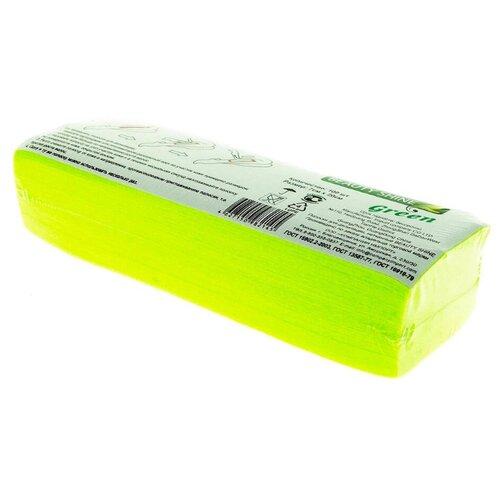 Beauty Shine Полоски нетканые Green 100 шт.