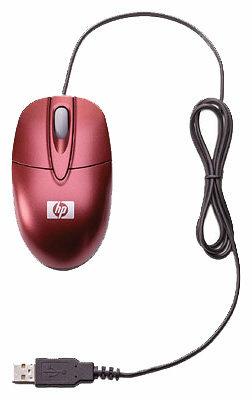 Мышь HP AU094AA Merlot Red USB
