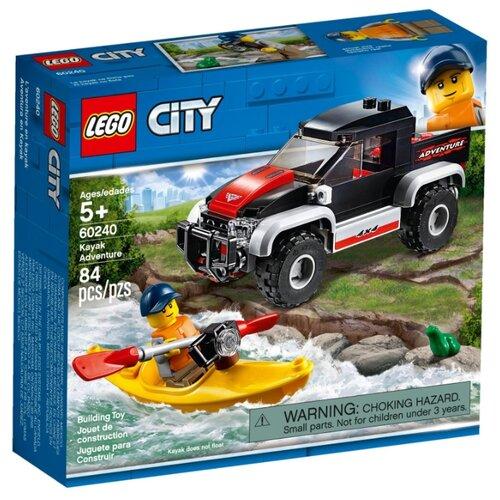 Купить Конструктор LEGO City 60240 Сплав на байдарке, Конструкторы