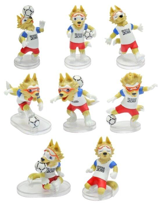 Фигурки 1 TOY FIFA-2018 Волк Забивака Classic Т11669
