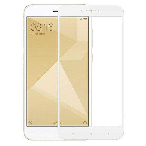 Защитное стекло UVOO Full Screen для Xiaomi Redmi 4X белыйЗащитные пленки и стекла<br>